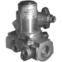 All Points 54-1157 Gas Safety Valve; Natural Gas / Liquid Propane; 3/4 inch Gas In / Out; 1/4 inch Pilot In / Out