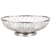 American Metalcraft OBS69 9 inch x 5 7/8 inch Oval Stainless Steel Basket