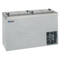 Master Bilt DC-4SSE 54 inch Stainless Steel Flip Lid Ice Cream Dipping Cabinet