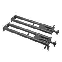 All Points 24-1022 23 inch x 6 1/4 inch Steel Oven Burner - 2/Set
