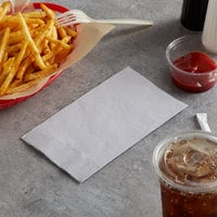 Choice 15 inch x 17 inch Customizable Silver / Gray 2-Ply Paper Dinner Napkin - 125/Pack