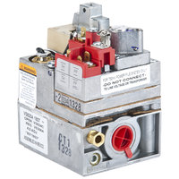 Frymaster 807-1603 Equivalent Natural Gas Valve; 1/2 inch NPT Gas In / Out; 1/4 inch CCT Pilot Out