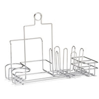 Tablecraft 5457112R Metal Diner Rack Condiment Holder