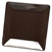 Elite Global Solutions D1313SQ Squared Aubergine 13 inch Square Melamine Platter - 6/Case