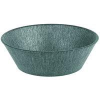 HS Inc. HS1012 8 inch x 2 1/4 inch Jalapeno Polyethylene Round Basket - 24/Case