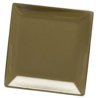 Elite Global Solutions D99SQ Squared Lizard 9 inch Square Melamine Plate - 6/Case