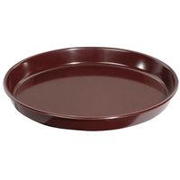 GET ST-13-BR 13 inch Brown Melamine Round Tray - 12/Case