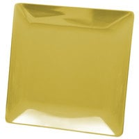 Elite Global Solutions D1111SQ Squared Olive Oil 11 1/2 inch Square Melamine Plate