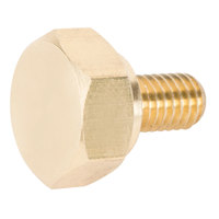 Avantco 17810665 Brass Thumb Screw for CFD Series
