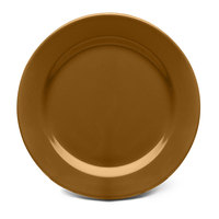 Elite Global Solutions D1075PL Urban Naturals Tapenade 10 3/4 inch Round Melamine Plate - 6/Case
