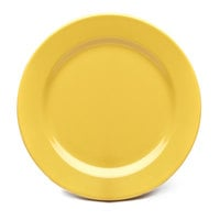Elite Global Solutions D1075PL Rio Yellow 10 3/4 inch Round Melamine Plate