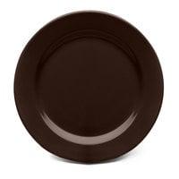 Elite Global Solutions D1075PL Urban Naturals Aubergine 10 3/4 inch Round Melamine Plate - 6/Case