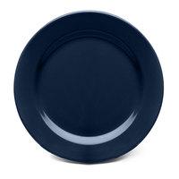 Elite Global Solutions D775PL Urban Naturals Lapis 7 3/4 inch Round Melamine Plate - 6/Case