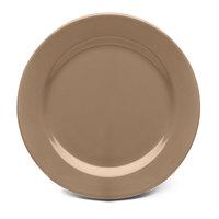Elite Global Solutions D1075PL Urban Naturals Mushroom 10 3/4 inch Round Melamine Plate - 6/Case