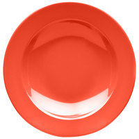 Elite Global Solutions D10PB Rio Spring Coral 18 oz. Round Melamine Pasta / Soup Bowl - 6/Case