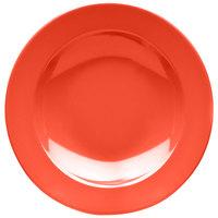 Elite Global Solutions D10PB Rio Spring Coral 18 oz. Round Melamine Pasta / Soup Bowl