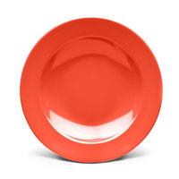 Elite Global Solutions D878PB Rio Spring Coral 12 oz. Round Melamine Pasta / Soup Bowl