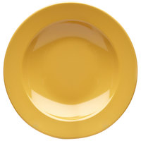 Elite Global Solutions D10PB Rio Yellow 18 oz. Round Melamine Pasta / Soup Bowl - 6/Case