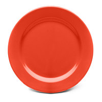 Elite Global Solutions D1075PL Rio Spring Coral 10 3/4 inch Round Melamine Plate - 6/Case