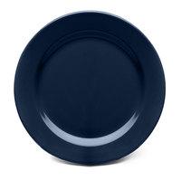 Elite Global Solutions D1075PL Urban Naturals Lapis 10 3/4 inch Round Melamine Plate - 6/Case