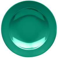 Elite Global Solutions D10PB Rio Autumn Green 18 oz. Round Melamine Pasta / Soup Bowl - 6/Case