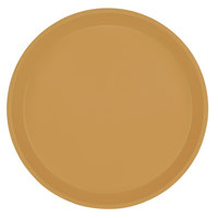Cambro 1000514 10 inch Round Earthen Gold Fiberglass Camtray - 12/Case