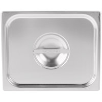 Vollrath 75120 Super Pan V 1/2 Size Solid Stainless Steel Steam Table / Hotel Pan Cover