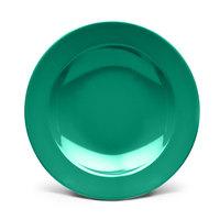 Elite Global Solutions D12PB Rio Autumn Green 24 oz. Round Melamine Pasta / Soup Bowl