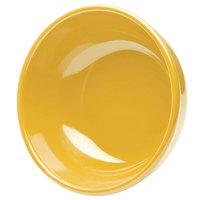 Elite Global Solutions D634B Rio Yellow 28 oz. Round Melamine Bowl - 6/Case