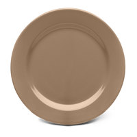 Elite Global Solutions D9PL Urban Naturals Mushroom 9 inch Round Melamine Plate - 6/Case