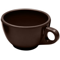 Elite Global Solutions DMC Urban Naturals Aubergine 8 oz. Melamine Coffee Cup