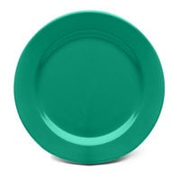 Elite Global Solutions D1175PL Rio Autumn Green 11 3/4 inch Round Melamine Plate