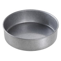 Chicago Metallic 47026 7 inch x 2 inch Glazed Aluminized Steel Round Customizable Cake Pan