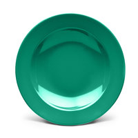 Elite Global Solutions D878PB Rio Autumn Green 12 oz. Round Melamine Pasta / Soup Bowl - 6/Case