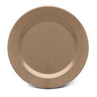 Elite Global Solutions D612PL Urban Naturals Mushroom 6 1/2 inch Round Melamine Plate - 6/Case