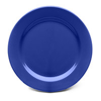 Elite Global Solutions D1075PL Rio Winter Purple 10 3/4 inch Round Melamine Plate - 6/Case