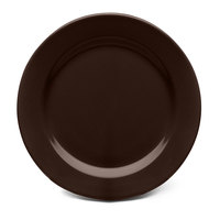 Elite Global Solutions D775PL Urban Naturals Aubergine 7 3/4 inch Round Melamine Plate - 6/Case