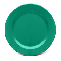 Elite Global Solutions D1075PL Rio Autumn Green 10 3/4 inch Round Melamine Plate - 6/Case