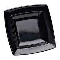 Elite Global Solutions DMP55 Stratus Black 5 1/4 inch Square Plate - 6/Case