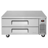 Turbo Air TCBE-48SDR 48 inch Two Drawer Refrigerated Chef Base