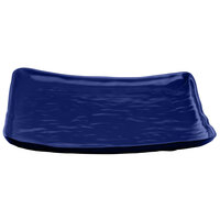 Elite Global Solutions M14SQRF Tuscany Blue 13 1/2 inch Square Plate