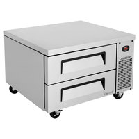 Turbo Air TCBE-36SDR-N6 36 inch Two Drawer Refrigerated Chef Base