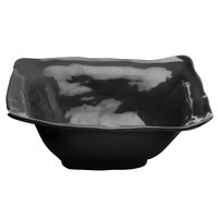 Elite Global Solutions M13BRF Tuscany 4 Qt. Black Square Melamine Bowl