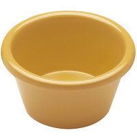 Elite Global Solutions R3SM Rio Yellow 3 oz. Melamine Ramekin - 6/Case