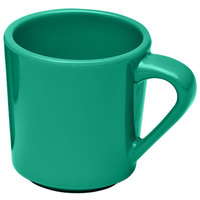 Elite Global Solutions DC14-AG Rio Autumn Green 14 oz. Melamine Mug