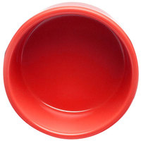 Elite Global Solutions DRAM Rio Spring Coral 4 oz. Melamine Ramekin - 6/Case