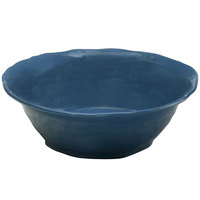 Elite Global Solutions M113BRF Tuscany Blue 2.5 Qt. Flared Round Bowl