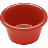 Elite Global Solutions R3SM Rio Spring Coral 3 oz. Melamine Ramekin - 6/Case