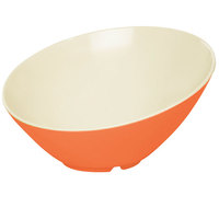 GET B-790-ST Keywest 1.9 Qt. Sunset Slanted Melamine Bowl - 6/Case