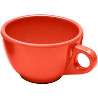 Elite Global Solutions DMC Rio Spring Coral 8 oz. Melamine Coffee Cup - 6/Case